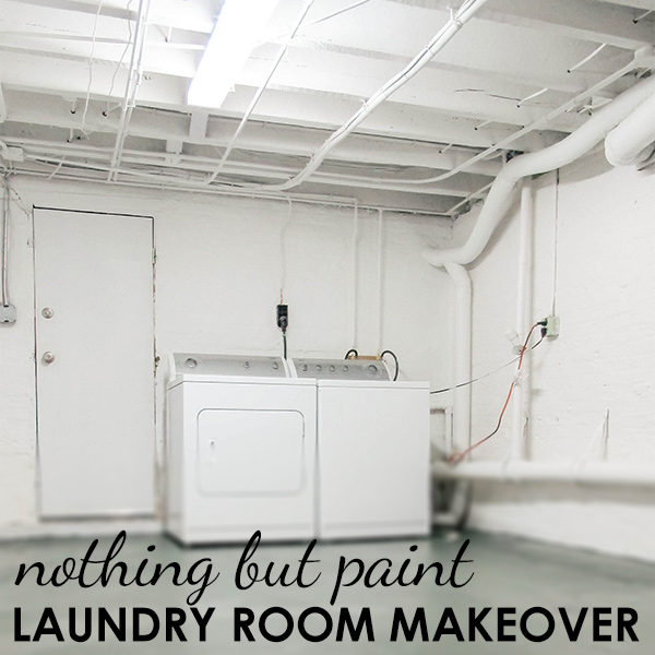 Laundry Room Overhaul – Dark and Drab to Bright and Fab