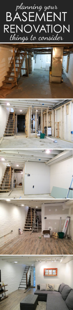 Turning a dark and shallow basement into a bright and cozy space
