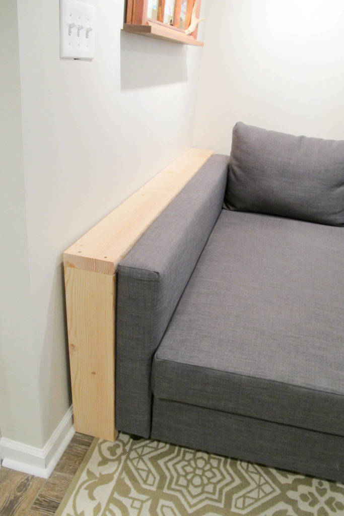 Easy Diy Behind The Couch Table Bye Bye Spilled Wine