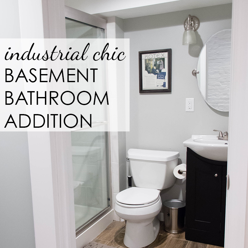 Basement Tub: Basement Bathroom Addition