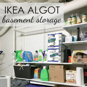 ALGOT Basement Storage
