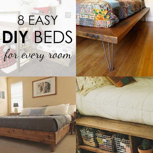 A DIY Bed for Every Room in the House!