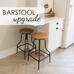 Simple Barstool Upgrade