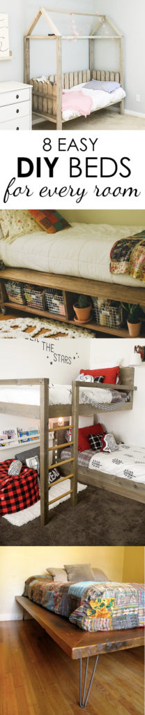 DIY bed frames that don't look cheap - but definitely cost less than anything you will find in stores