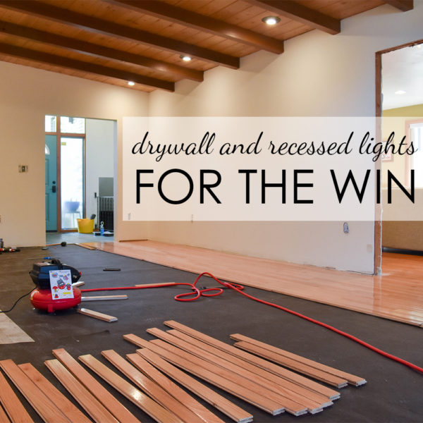 Living Room Remodel – Let There be Light!