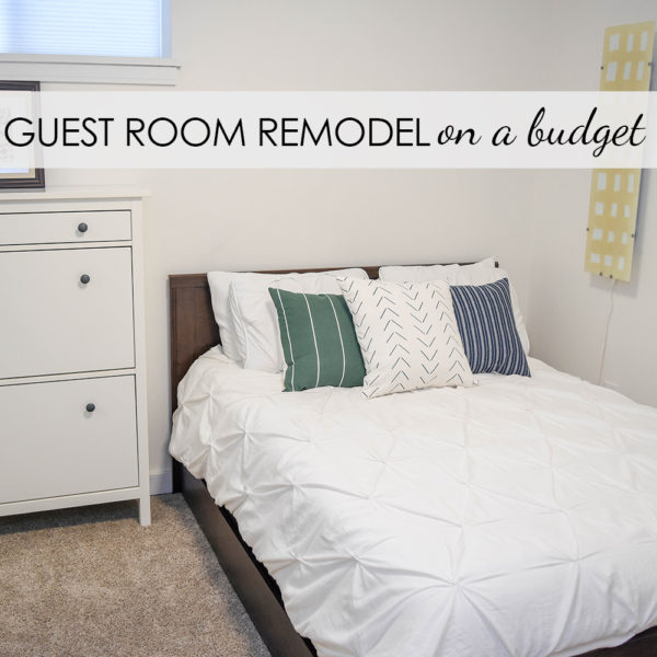 Simple Guest Room on a Budget