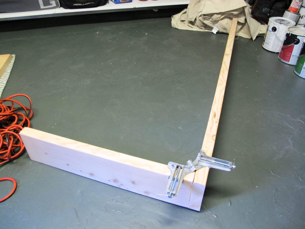 DIY Behind-the-Sofa table. Inexpensive option for any space. | EffieRow.com