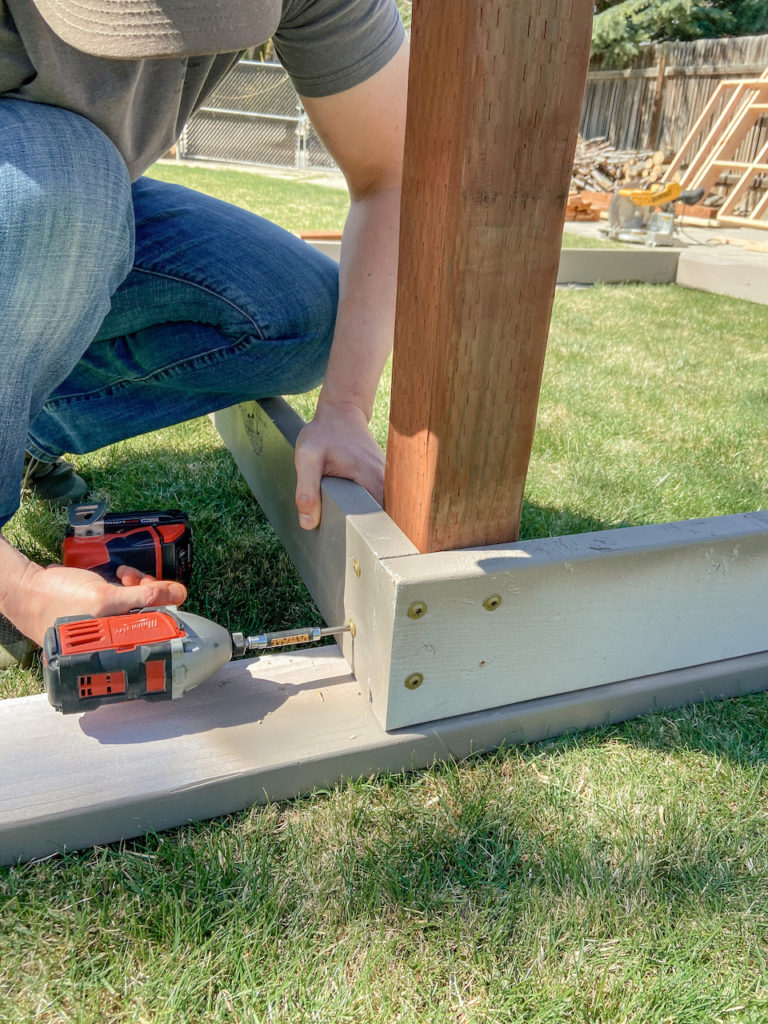 Simple steps for a DIY playhouse deck.